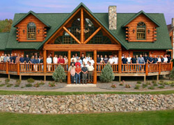 Click To Enlarge - Golden Eagle Log and Timber Homes Staff Photo